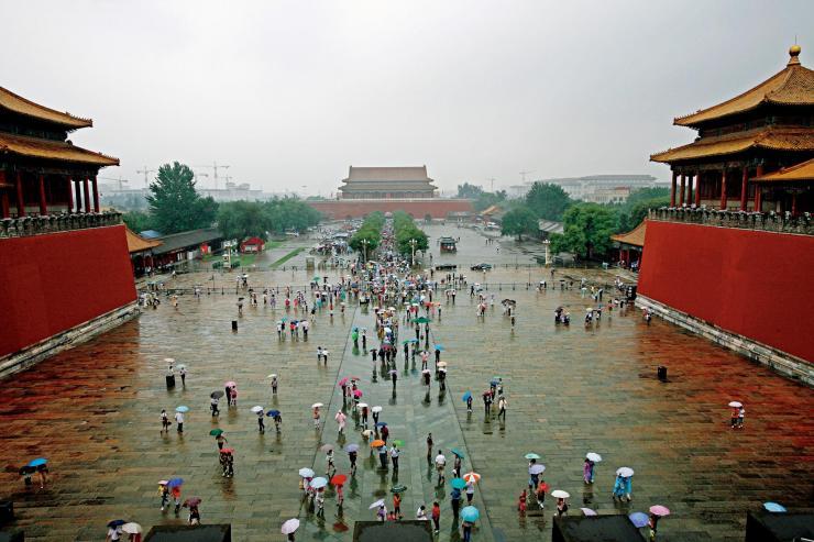 北京看海,故宫为何能笑傲江湖