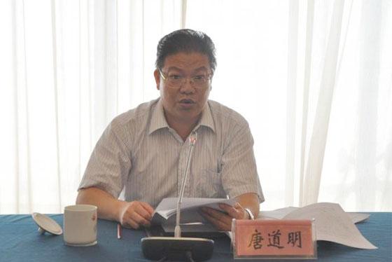 岳阳市委常委、常务副市长唐道明