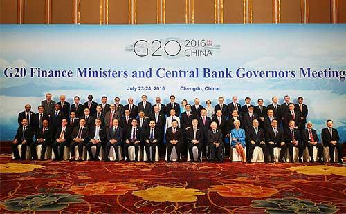 2016年第三次二十国集团(G20)财长和央行行长会议