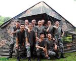 就这样,军用帐篷搭建完毕了,你学会了吗?