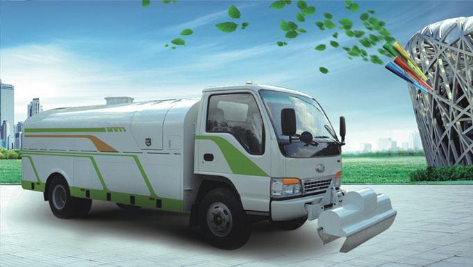 北京环卫车辆将全面步入零排放时代