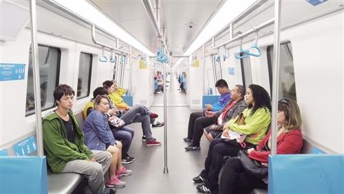 在里约感受中国地铁