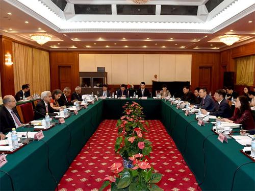 第八次中印财金对话在京举行