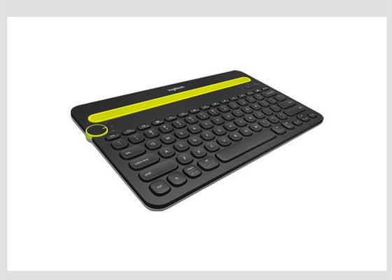 罗技K480蓝牙多功能设备键盘    笔记本电脑标配的键盘通常都不错,但是无线蓝牙键盘能够与你的移动设备同步,让你更舒服地去学习。罗技K480蓝牙多功能设备键盘可以同时连接三款设备,兼容Mac、PC、iOS和安卓平台,并配备用户所熟悉的快捷键。它的顶部有方便的沟槽,可以插入手机或平板电脑。