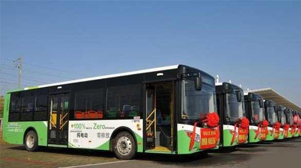 新能源公交车采购大单多