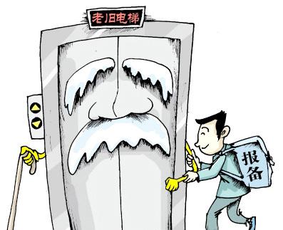 变频年代初期的plc加变频器控制的电梯均应逐步改造