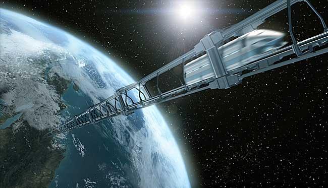 """""""太空电梯""""能否送人上宇宙"""