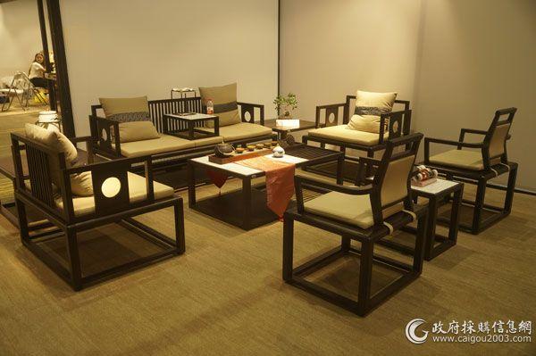 第38届上海家博会:新中式办公家具图集