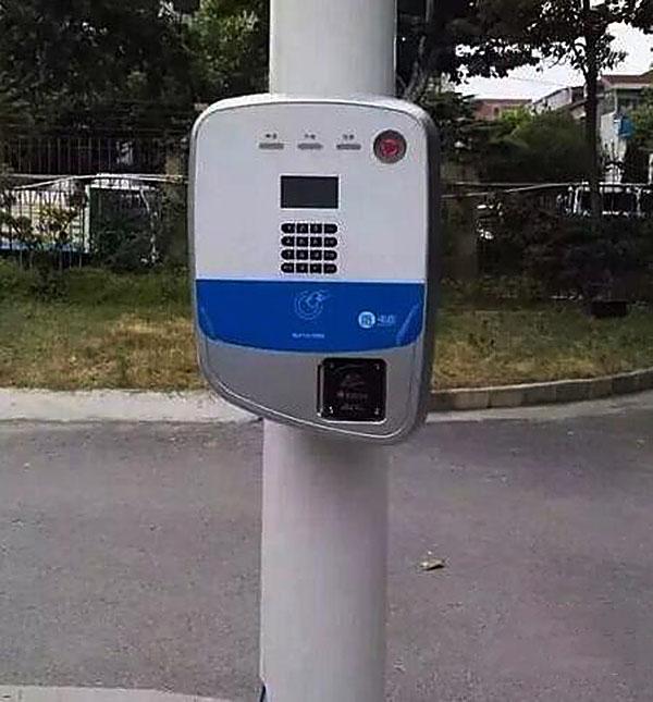 新能源汽车分时租赁入驻成都 路灯电杆将变充电桩