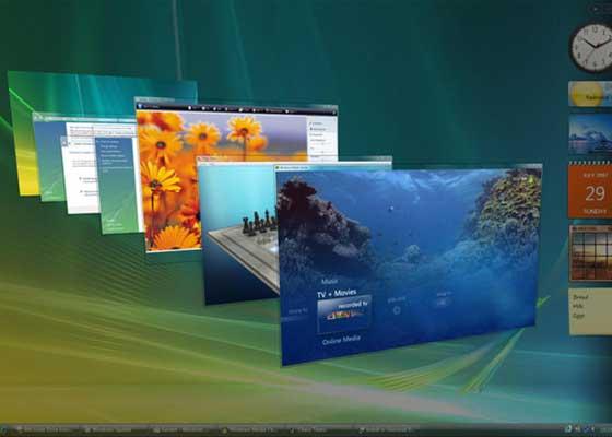 Windows Vista(2007)    Windows Vista作为Windows XP的接替者,于2007年1月正式上线,但它在发布后的不久,就因为Bug问题,招致了用户雪崩式的批评。仅仅只在它发布的4个月后,薄命的Windows Vista就被微软抛弃了。