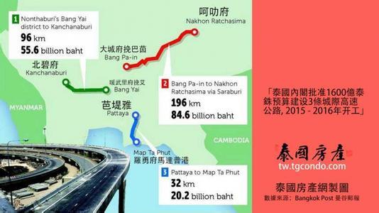 泰国交通部拟下月呈内阁3条复线铁路项目