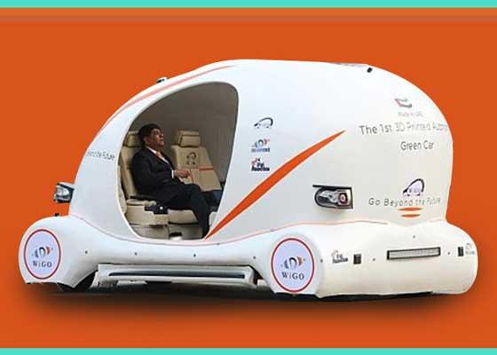 """无人驾驶汽车    迪拜正努力研发无人驾驶汽车,并普及3D打印技术。该国希望能有25%的无人驾驶汽车,并且25%的汽车通过3D打印技术制造。总部位于阿联酋DigiRobotics希望能将这两种技术结合起来,利用3D打印技术的生产无人驾驶汽车WiGo。这种汽车的车身是在迪拜通过大型3D打印机制造的,底盘是金属制造,使用电动引擎,但可安装太阳能电池板充电,以便更加环保。WiGo今年年初时曾现身迪拜的GITEX上,它拥有双座、大屏幕和4个iPad。乘客可使用iPad确定自己的目的地,也可以用于娱乐。WiGo使用长距离和短距离红外传感器与GPS追踪系统,它可以识别和避过障碍,并在不同路线上行进。DigiRobotics技术主管拉菲克·斯沃什(Rafiq Swash)表示:""""WiGo使用Velodyne 360 LiDAR传感器实时定位和绘图,同时结合雷达和配有视觉摄像头的激光雷达,提供可靠的360度感知能力,可以在任何天气情况下了解周围环境和躲避障碍。WiGo配有嵌入式视觉引擎,可以判断人或物体,在导航和躲避障碍时做出最有效决定。"""""""