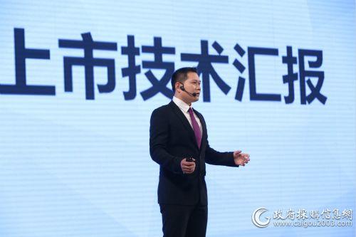 江淮技术中心瑞风A60产品总监曹斌介绍瑞风A60技术优势