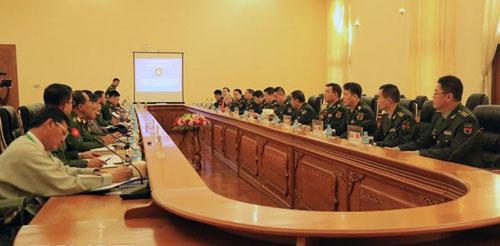 中缅举行外交国防2+2高级别磋商首轮会议