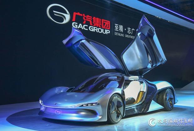 EnLight智联电动概念车是一款由广汽研究院自主研发的概念跑车