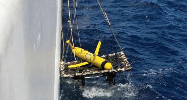 中美双方顺利移交无人潜航器