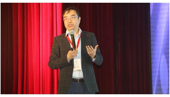 南京天加空调设备有限公司常务副总裁郝然发表演讲