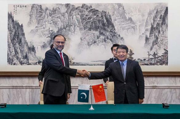 中巴经济走廊合作委员会第六次会议在北京召开