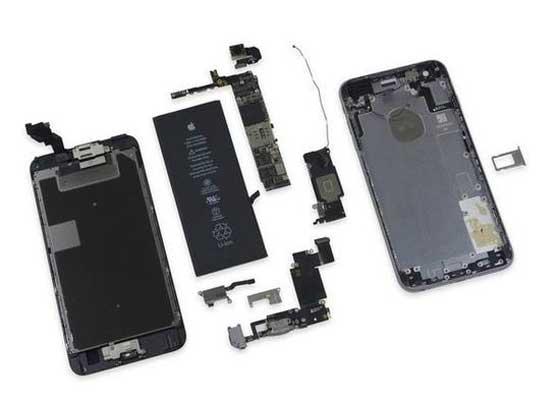 iPhone 6s Plus:7 分