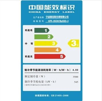 2020年我国能效标识2级以上空调占有率达50%以上