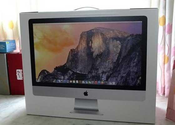1、苹果27英寸5K iMac 哪怕苹果今年不会发布新一代的27英寸iMac,旧款产品也足以在一体式电脑这个领域里呼风唤雨。它的最大优势,就是5K组别的显示屏幕。