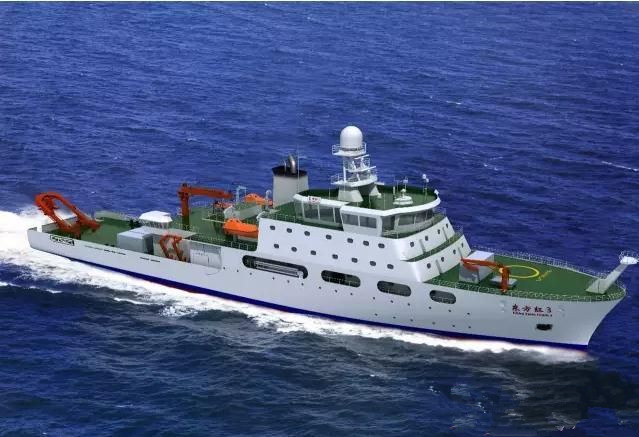 """揭秘功能强大的科考船——""""海洋六号"""""""