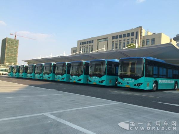 广东拟建纯电动公交运营示范区