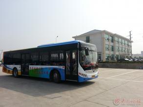 昆山公交开启绿色模式