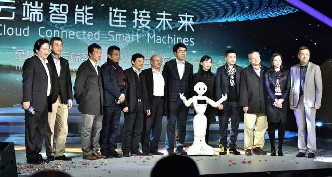 达闼科技云端智能机器人平台 开启智能领域新征程