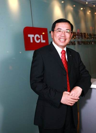 全国人大代表、TCL集团董事长兼CEO李东生