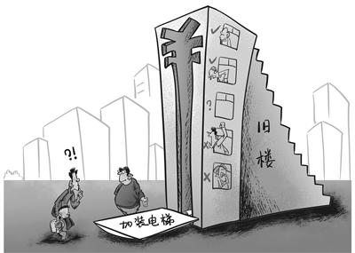 盘点旧楼加装电梯面临哪些难题和误解