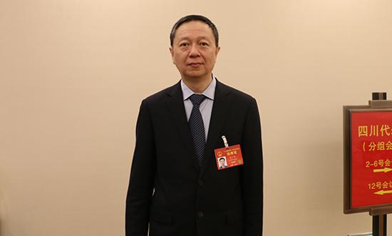 全国人大代表、四川省财政厅厅长王一宏