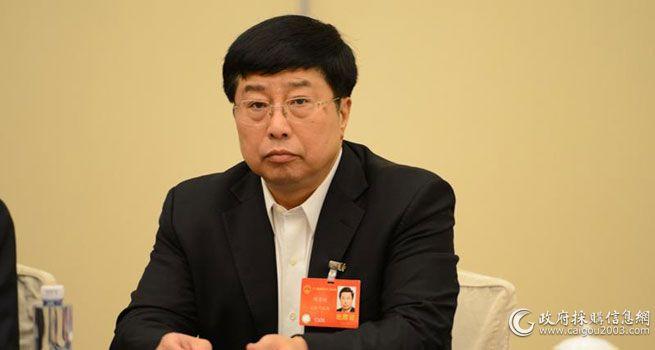 周厚健:政采应助力实体经济开拓市场