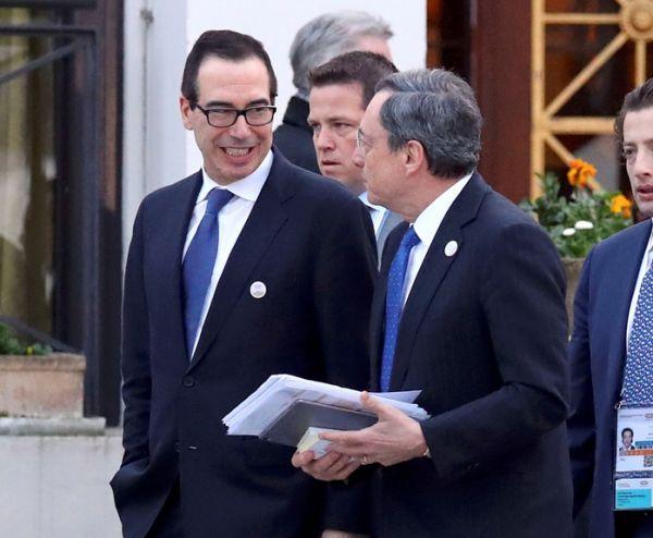 中欧在G20财长会议警告美国