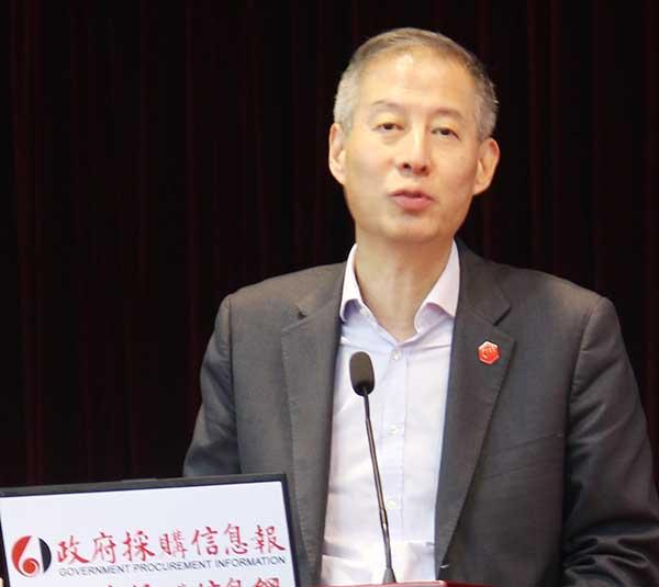 广东省政府采购中心副主任 姚许文