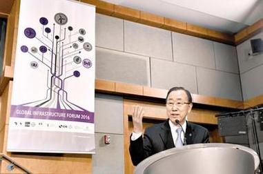 首届全球基础设施论坛