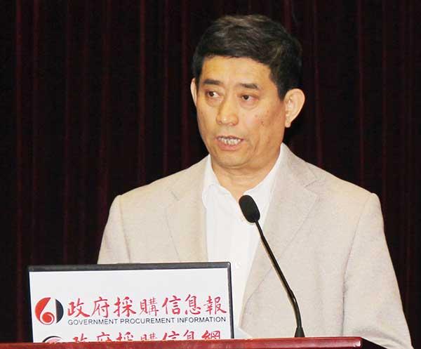 中国家具协会理事长 朱长岭