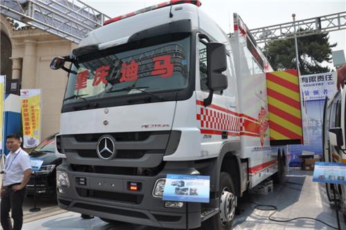 第七届国际警用反恐装备展:重庆迪马