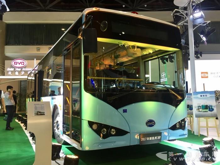 蚌埠首批60辆比亚迪电动公交投运