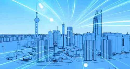上海城市房屋风景图