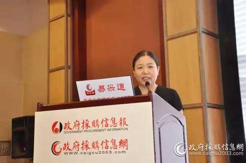 政府采購信息報社創辦社長  劉亞利