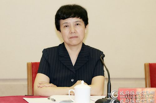 贾庆玲:加大重点采购项目回访比例