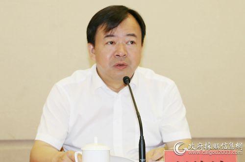 """趙峰濤:深化""""放管服"""" 落實政采新規"""