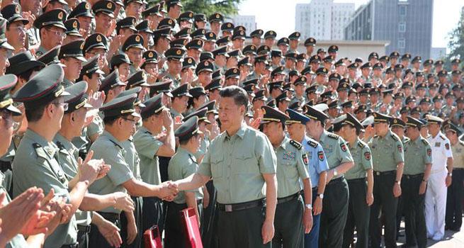习近平:推动国防和军队改革向纵深发展