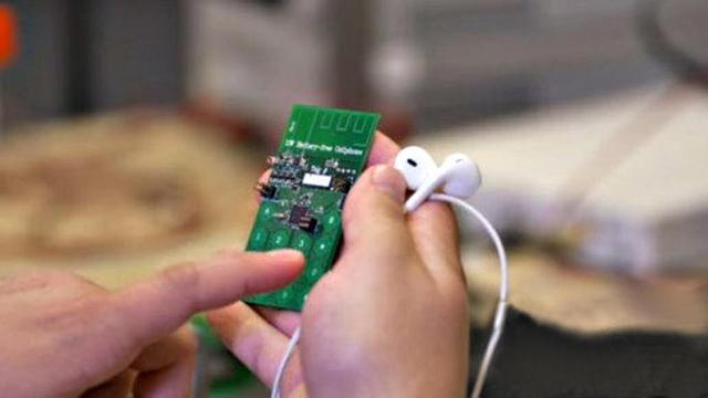 """""""无电池""""手机诞生 更方便更节能"""