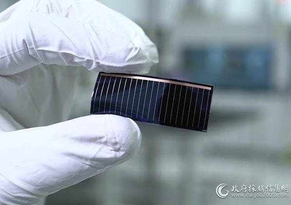 汉能柔性砷化镓薄膜太阳能芯片
