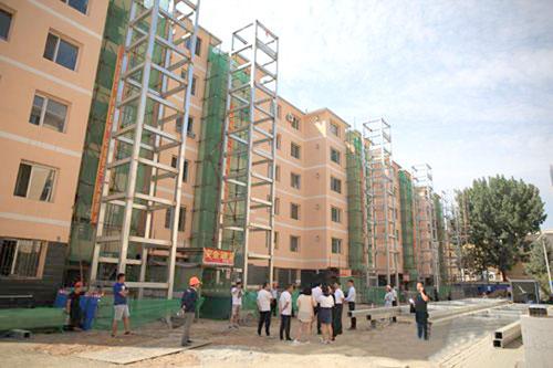 前8个月旧楼加装电梯项目近50个