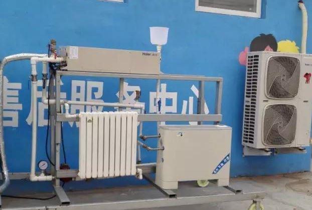 空气源热泵助力乡村煤改电
