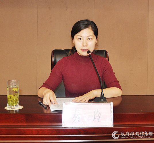 常州市财政局政府采购管理处副处长 秦玲
