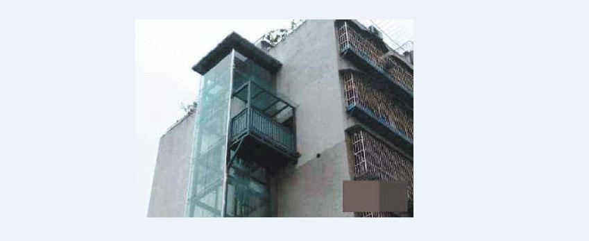 """重庆:住户嫌爬楼太累 修建""""私人电梯"""""""